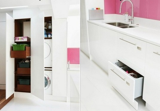 pink-and-white-for-modern-kitchen-island