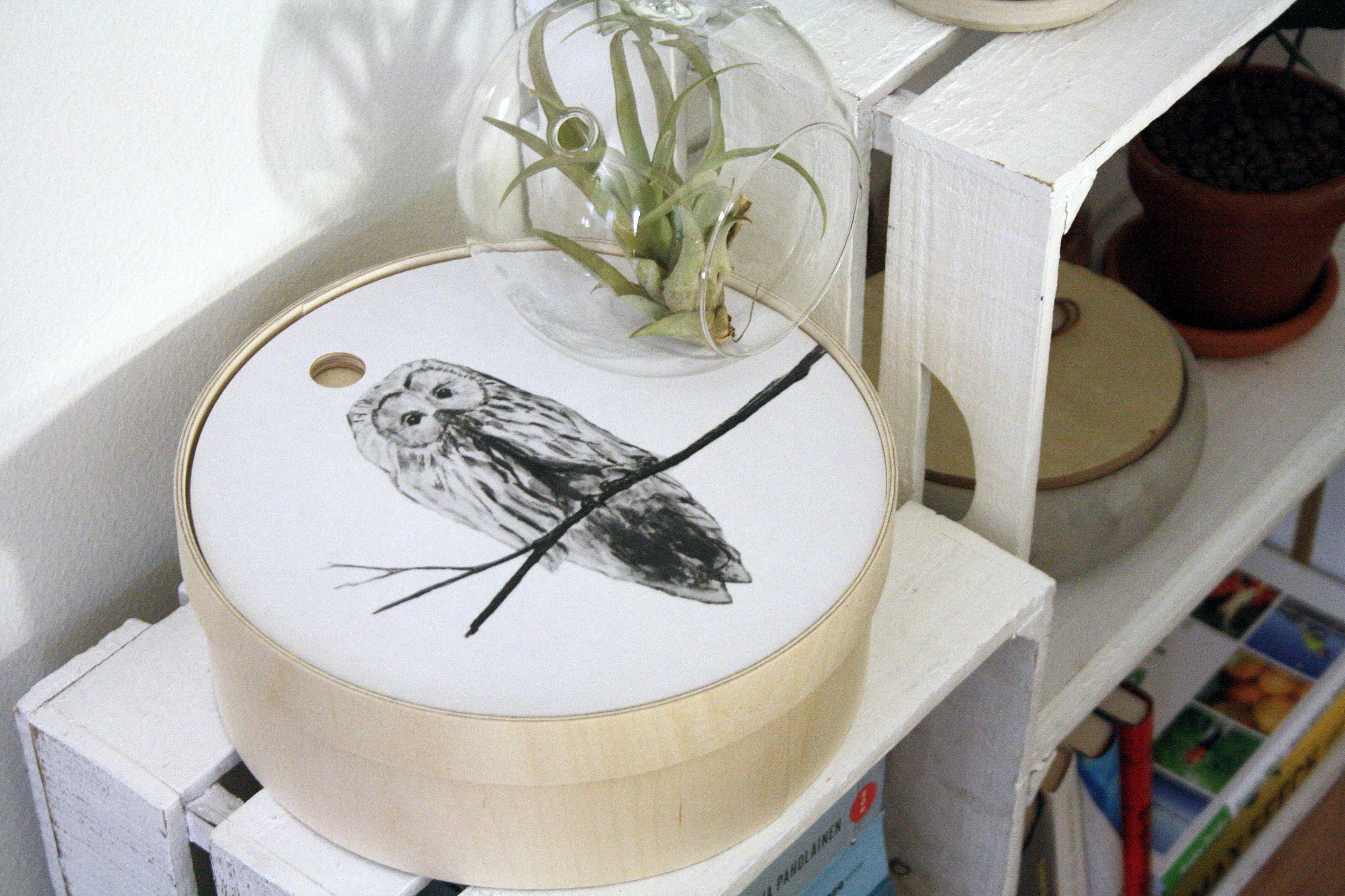 Vanerivakka pöllö - Miiko Design