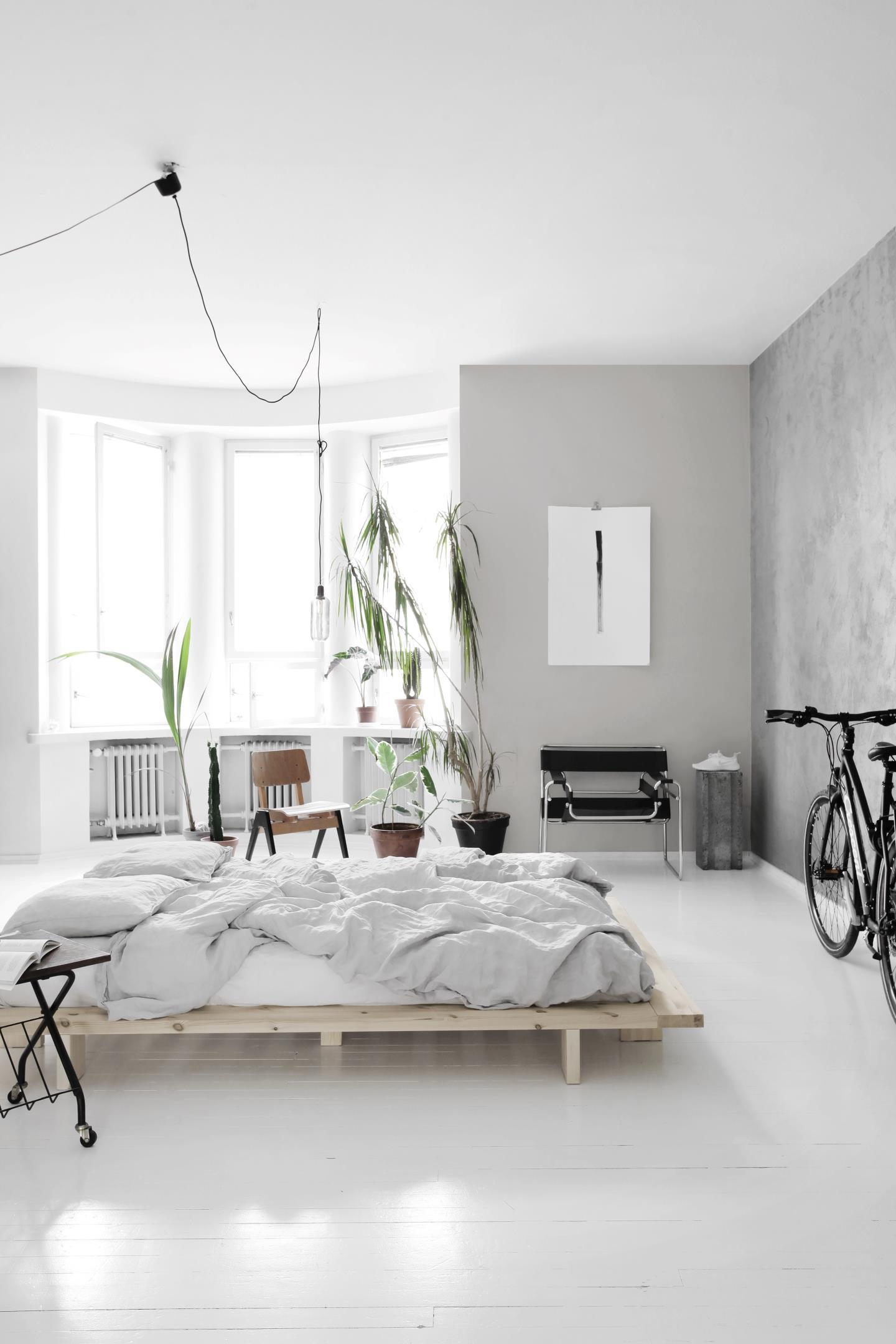 karup, japan, futon-sänky, minimalistinen sänky